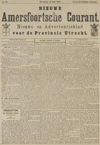 Nieuwe Amersfoortsche Courant 1898-06-22
