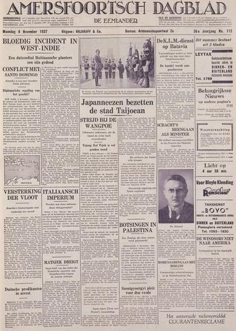 Amersfoortsch Dagblad / De Eemlander 1937-11-08