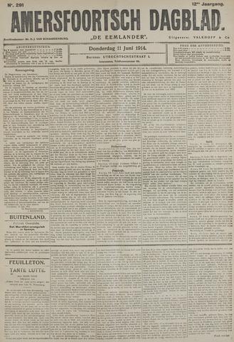Amersfoortsch Dagblad / De Eemlander 1914-06-11