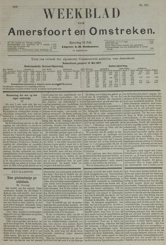 Weekblad voor Amersfoort en Omstreken 1878-07-13