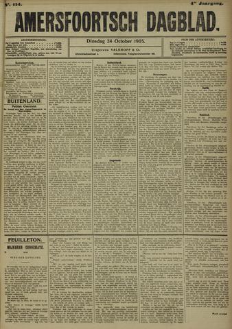 Amersfoortsch Dagblad 1905-10-24