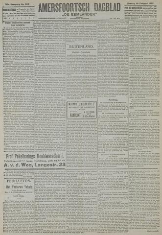 Amersfoortsch Dagblad / De Eemlander 1922-02-28
