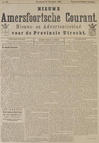 Nieuwe Amersfoortsche Courant 1900-11-21