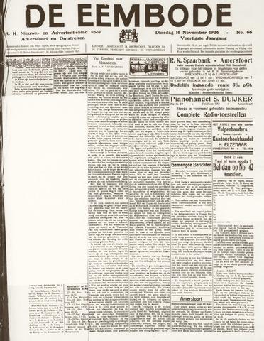 De Eembode 1926-11-16
