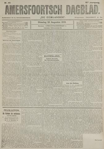 Amersfoortsch Dagblad / De Eemlander 1913-08-26