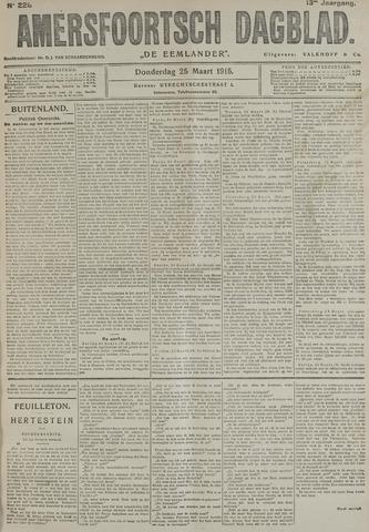 Amersfoortsch Dagblad / De Eemlander 1915-03-25