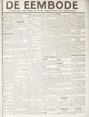 De Eembode 1921-11-25