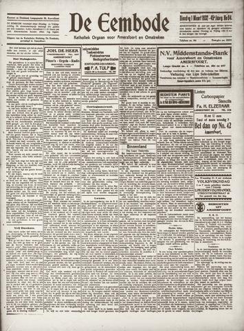 De Eembode 1932-03-01