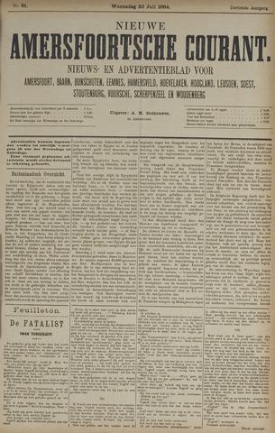 Nieuwe Amersfoortsche Courant 1884-07-30