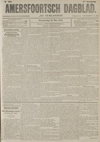 Amersfoortsch Dagblad / De Eemlander 1913-05-15