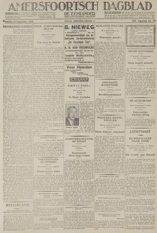 Amersfoortsch Dagblad / De Eemlander 1928-09-24