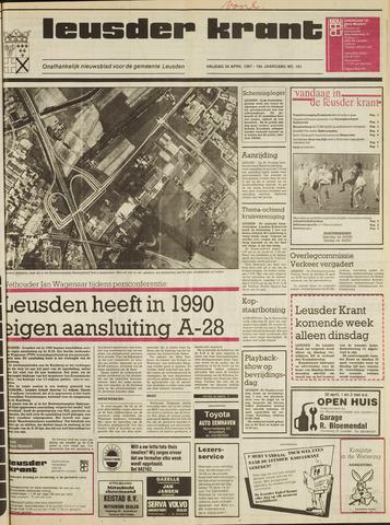 Leusder Krant 1987-04-24