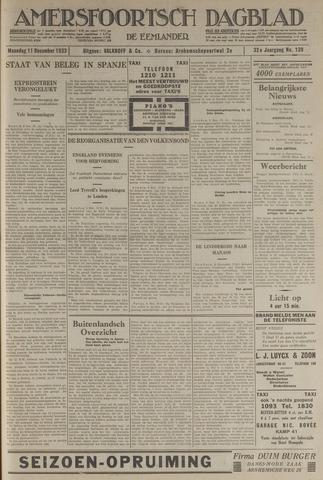 Amersfoortsch Dagblad / De Eemlander 1933-12-11