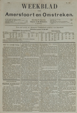 Weekblad voor Amersfoort en Omstreken 1878-08-31