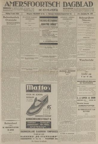Amersfoortsch Dagblad / De Eemlander 1933-06-09