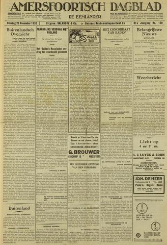 Amersfoortsch Dagblad / De Eemlander 1932-11-29