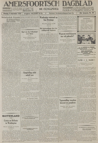 Amersfoortsch Dagblad / De Eemlander 1930-09-09