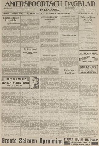 Amersfoortsch Dagblad / De Eemlander 1931-12-21