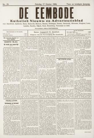 De Eembode 1908-10-17