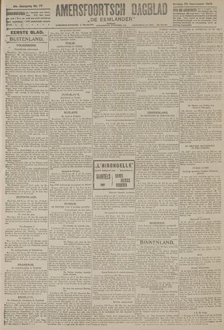 Amersfoortsch Dagblad / De Eemlander 1922-09-29