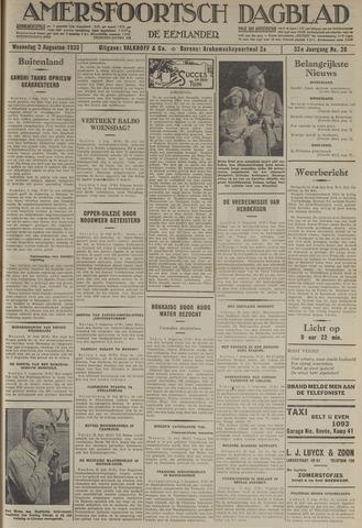 Amersfoortsch Dagblad / De Eemlander 1933-08-02