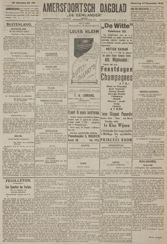 Amersfoortsch Dagblad / De Eemlander 1926-12-27