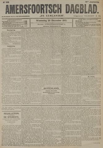 Amersfoortsch Dagblad / De Eemlander 1915-12-29
