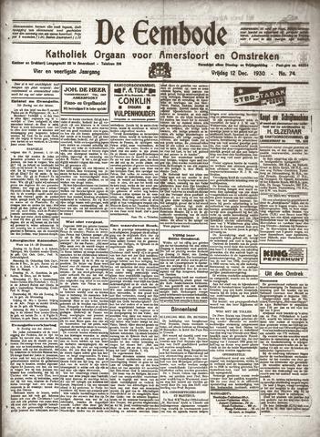 De Eembode 1930-12-12