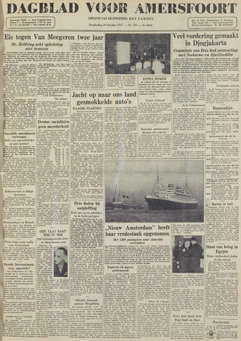 Dagblad voor Amersfoort 1947-10-30
