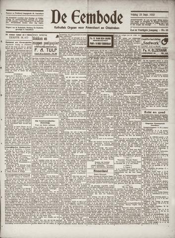 De Eembode 1932-09-23