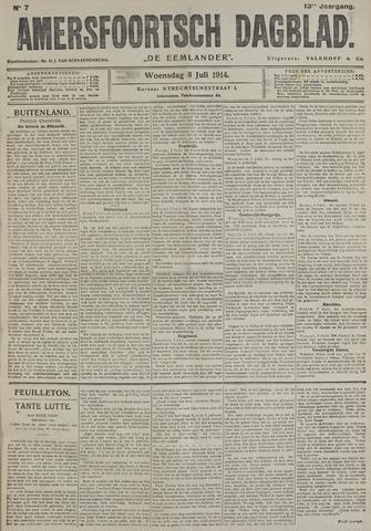 Amersfoortsch Dagblad / De Eemlander 1914-07-08