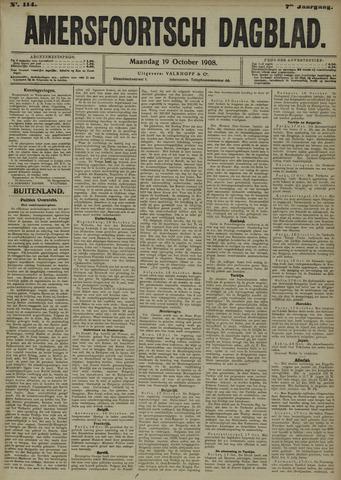 Amersfoortsch Dagblad 1908-10-19