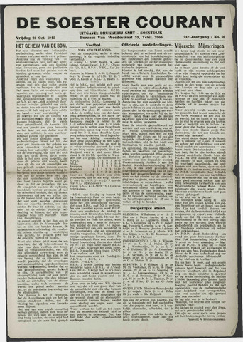 Soester Courant 1945-10-26