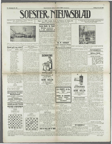 Soester Courant 1927-07-22