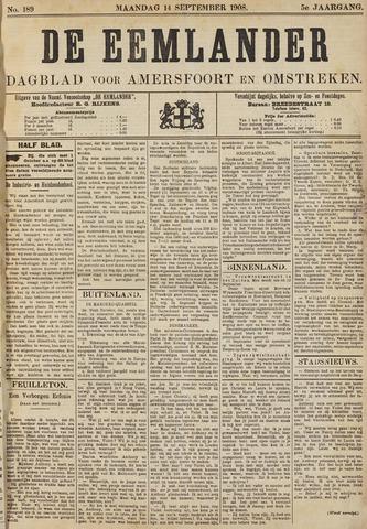 De Eemlander 1908-09-14