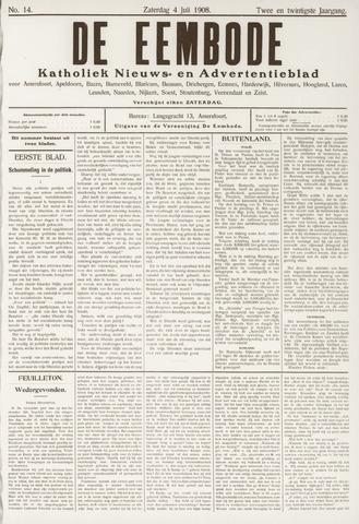 De Eembode 1908-07-04