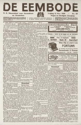 De Eembode 1925-11-13