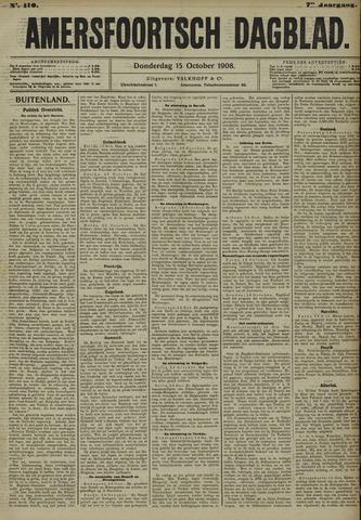Amersfoortsch Dagblad 1908-10-15