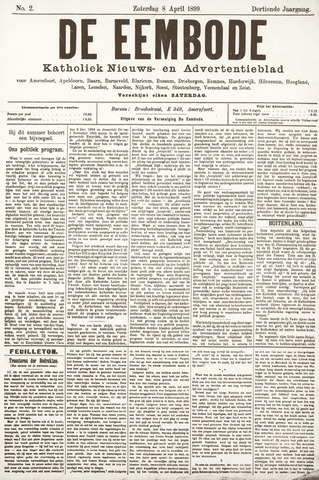 De Eembode 1899-04-08