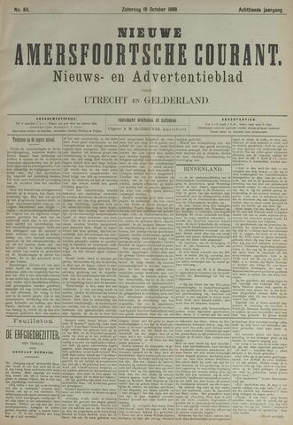 Nieuwe Amersfoortsche Courant 1889-10-19