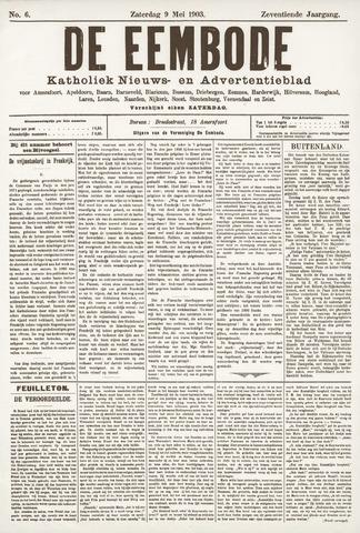 De Eembode 1903-05-09