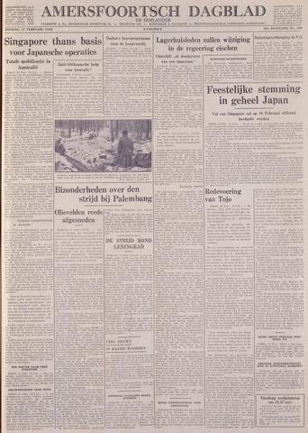 Amersfoortsch Dagblad / De Eemlander 1942-02-17