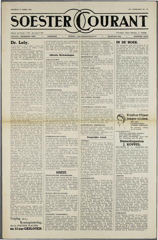 Soester Courant 1954-04-27