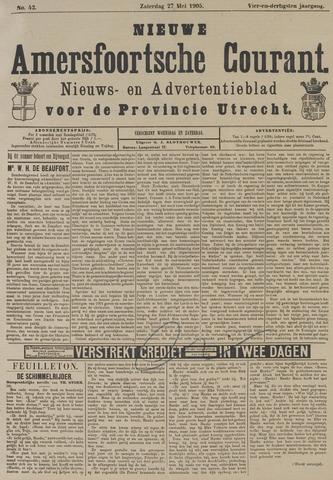 Nieuwe Amersfoortsche Courant 1905-05-27