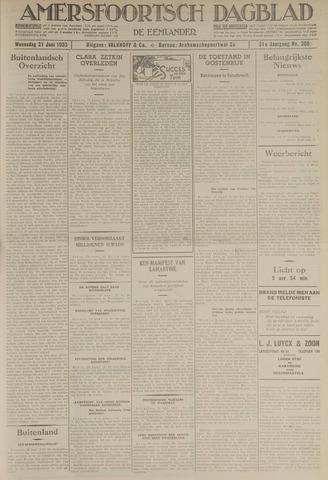 Amersfoortsch Dagblad / De Eemlander 1933-06-21