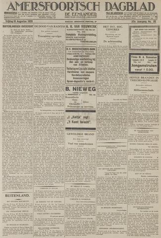Amersfoortsch Dagblad / De Eemlander 1928-08-10
