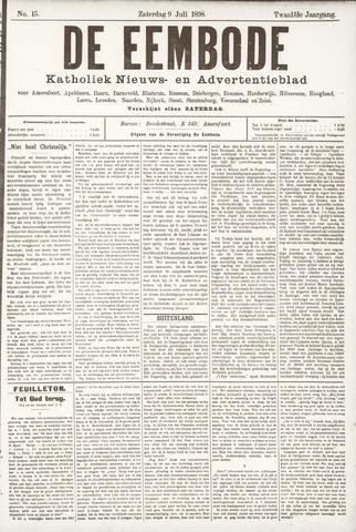De Eembode 1898-07-09