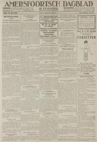 Amersfoortsch Dagblad / De Eemlander 1928-04-20
