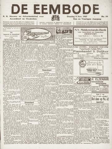 De Eembode 1927-11-08