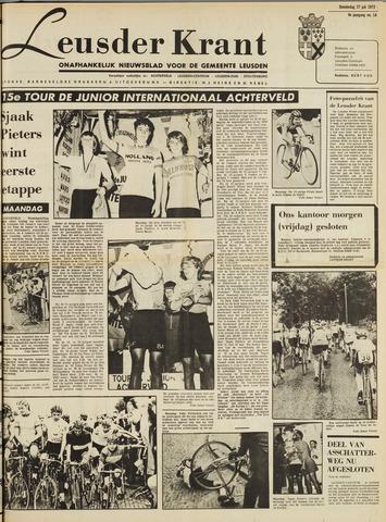 Leusder Krant 1972-07-27